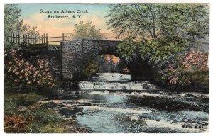 Rochester, N.Y., Scene on Allens Creek