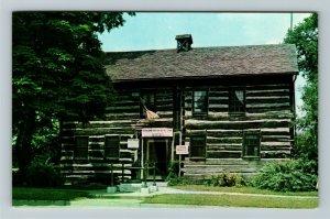 Dayton OH- Ohio, Newcom Tavern, First House in Dayton, Chrome Postcard