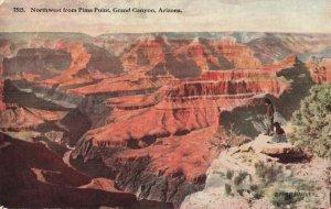 Postcard Pima Point Grand Canyon Arizona Posted 1915