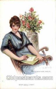 Artist Signed Earl Christy 1914