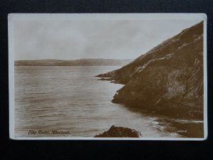 North Wales ABERSOCH The Rocks - Old RP Postcard by 55212