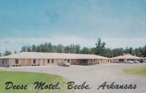 The New Deese Motel, BEEBE, Arkansas, 40-60s