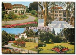 Postcard Modern Scholss Huenigen Christliches Ferienheim Schlos Hünigen
