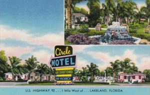 Florida Lakeland The Circle Motel