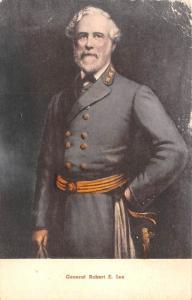 Civil War Post Card Old Vintage Antique Postcard General Robert E Lee Unused