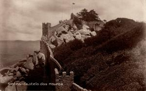 Portugal Sintra Castelo dos Mouros REAL PHOTO 02.14