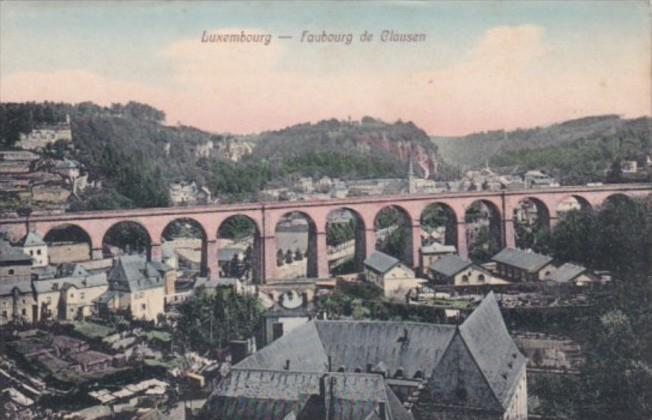 Luxembourg Faubourg de Clausen