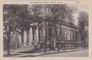 Illinois Streator Park Presbyterian Church