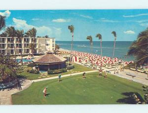 Pre-1980 PAN-AMERICAN MOTEL ON COLLINS AVENUE Miami Beach Florida FL G6646