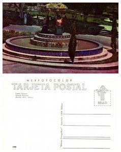 Fuente Tarasca, Tarasca Fountain, Morelia, Mich, Mexico