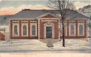 19552 VT Ludlow, Fletcher Memorial Library