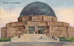Adler Planetarium, Chicago,  1933 Expo, USA Space Post Cards Postcards  1933 ...