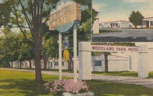 SPOKANE, Woodland Park Motel, Washington, 30-40s