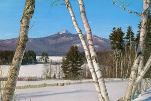 NH - Chocorua, Mt. Chocorua in Winter