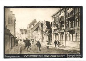 sweden, WISBY, Stadshotellet (1890s) Photographicum