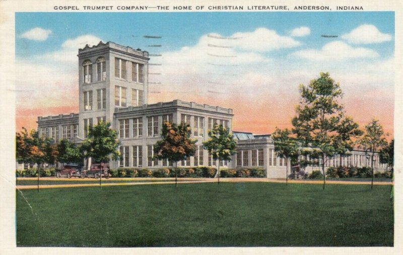 ANDERSON, Indiana, 1930-40s; Gospel Trumpet Company-Home of Christian Literature