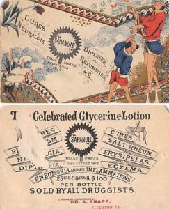 Victorian Trade Card Approx size inches = 2.5 x 4 Pre 1900 paper chip, paper ...