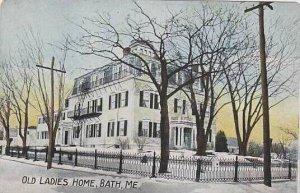 Maine Bath Old Ladies Home
