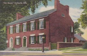 Ohio Gallipolis Our House Museum Curteich