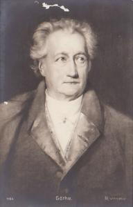 Johann Wolfgang von Goethe German Writer Artist & Politician