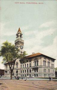 City Hall , WORCESTER , Massachusetts , PU-1909