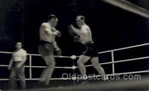 Primo Carnera vs Paolino Uzcudum, 1933 Boxing writing on back light crease ri...