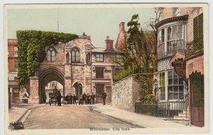 Hampshire; Winchester, City Gate 21715 PPC, Unposted, c 1910's