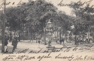 SANTOS , Brazil , 1907 ; Praca Maua