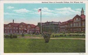 Indiana Fort Wayen Sectional View OF Concordia College