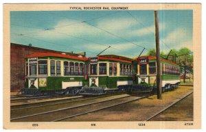 Typical Rochester Rail Equipment