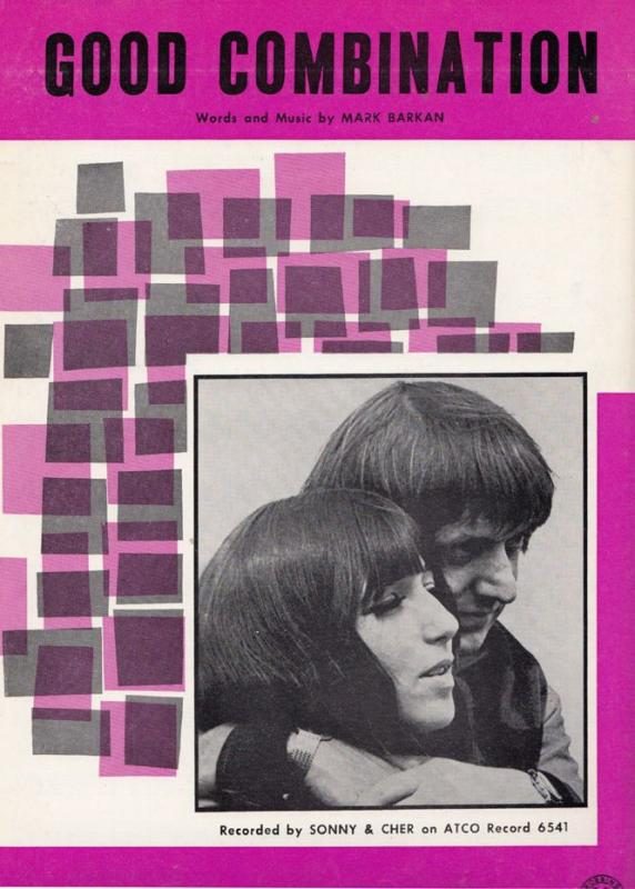 Sonny & Cher Good Combination XL Sheet Music