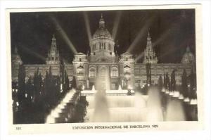 RP, National Palace (by Night), Expo Internacional De Barcelona 1929