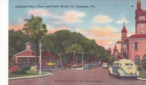 Florida St Augustine Cathedral Place Plaza & Public Market