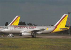 Germanwings, Airbus A319, unused Postcard