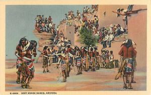 Linen of Hopi Snake Dance in Arizona AZ