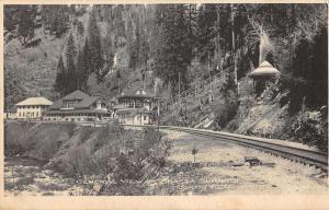 Shasta Springs California General View Of City Antique Postcard K36234