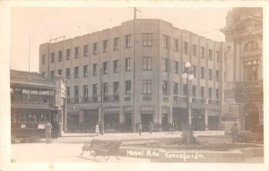 Concepcion Chile Hotel Rits Street Scene Real Photo Postcard JJ658760