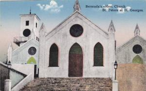 Exterior, Bermuda's oldest church, St. Peters at St.Georges, Bermuda, 00-10s