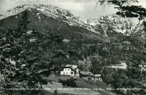 Austria Alpengasthof Geyschlager am Preinergscheid Rax Mittagsstation