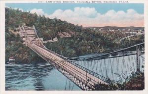 Lewiston Bridge Niagara River Niagara Falls New York