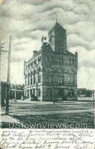 Post Office Council Bluffs IA 1907