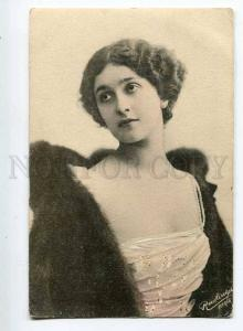 251126 Lina CAVALIERI Italian OPERA Singer FUR Vintage J.W.H.