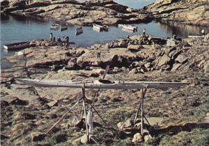 Kajak, UPERNAVIK, Greenland, 50-70's