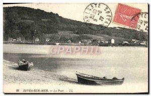 Old Postcard Dives sur Mer Port