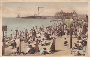 South Parade Beach And Pier, SOUTHSEA (Hampshire), England, UK, PU-1933