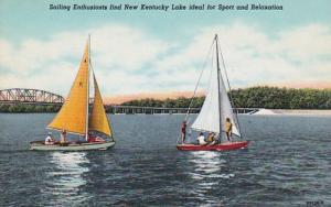 Kentucky Sailing On New Kentucky Lake Curteich