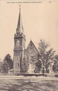 Massachusetts Rockland Holy Family Church