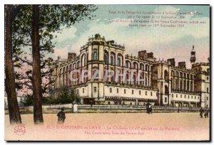 Postcard Old St Germain en Laye Le Chateau