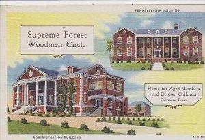Texas Sherman Supreme Forest Woodmen Circle
