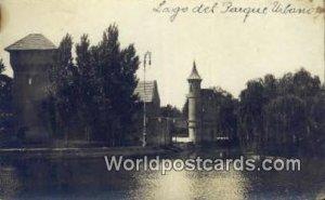 Lago del Parque Urbano Uruguay, South America 1916